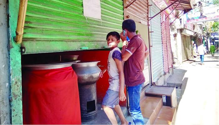 রাজধানীতে সীমিত পরিমাণে খোলা হোটেল-রেস্তোরাঁ